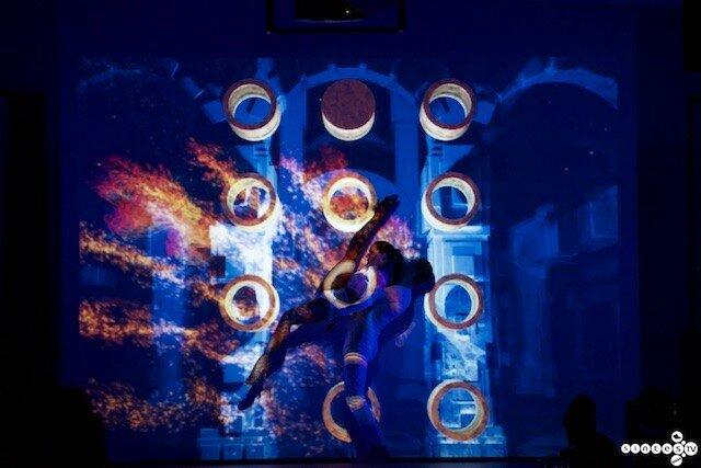 Танцевальный Маппинг - Домофон сервис 20 лет 12 февраля 2016г.фото видео студия SINTES.TV 8-903-948-89-20