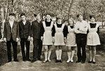 школа №1 1972г фото Татьяна Артамонова (Боровцева) #Солнцево