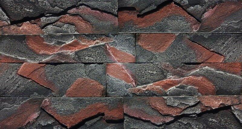 Декоративный камень Кирпичный скол