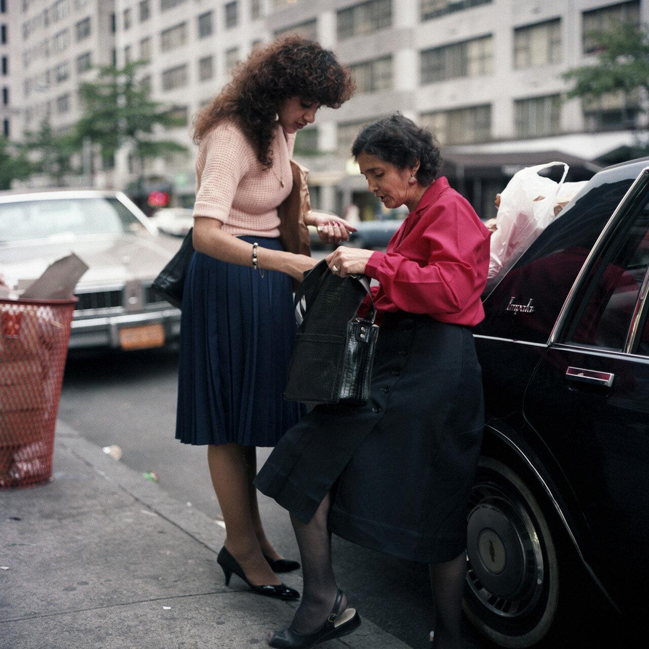 1985. Мать и дочь
