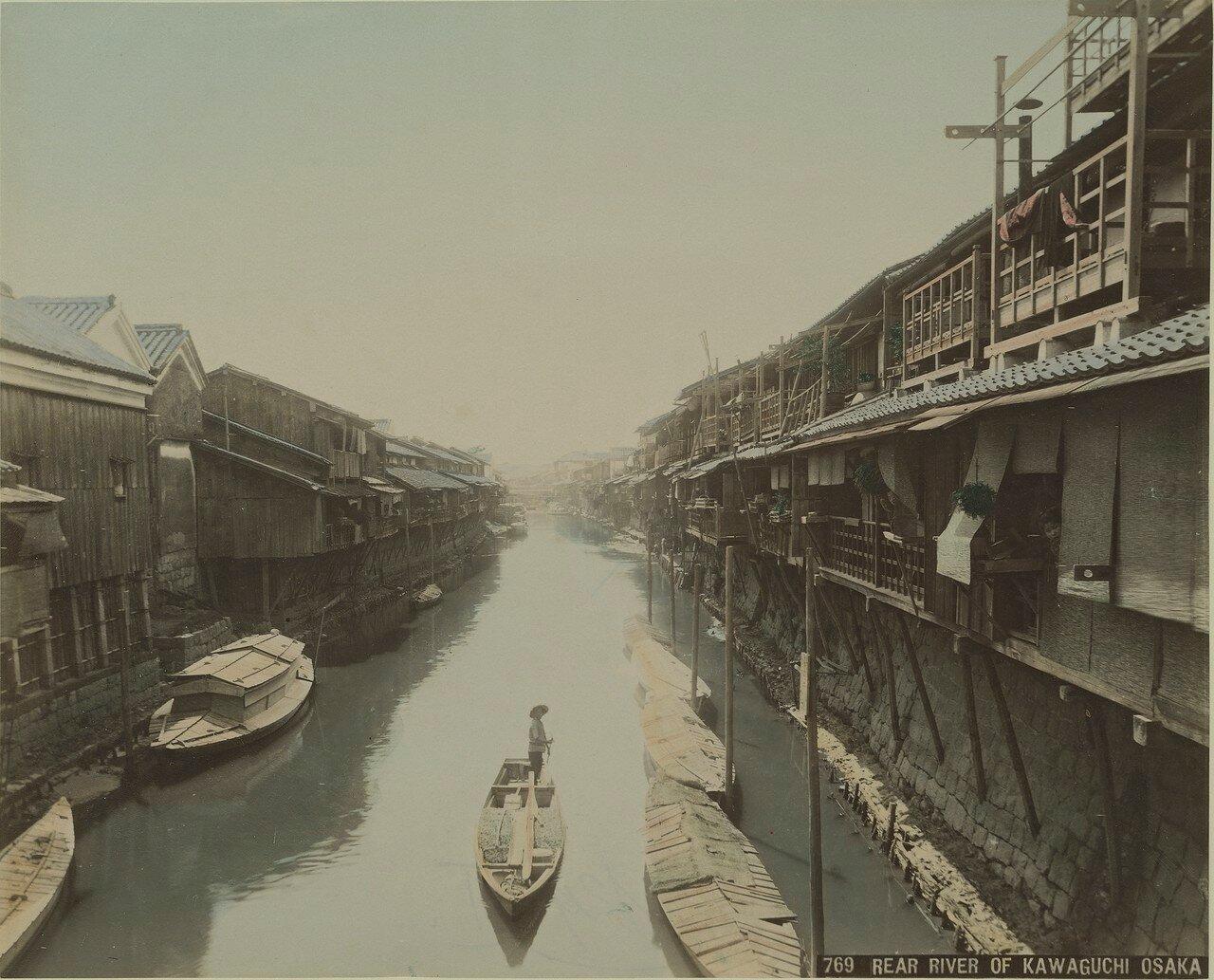 Осака. Кавагути, район Ниси