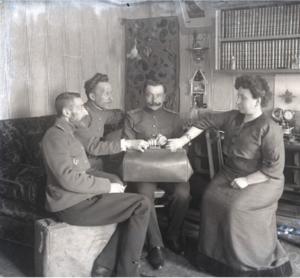 01. 1914. Перед отправкой на фронт. Рыбинск