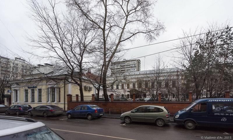 Троицкая улица в Москве