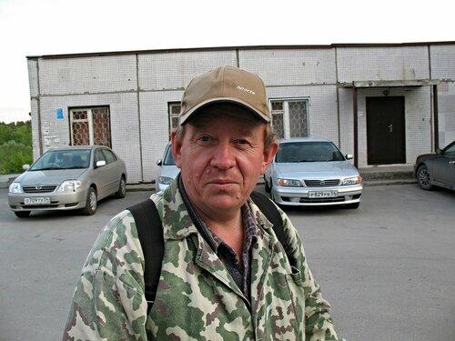 Суровый сибирский дачник.