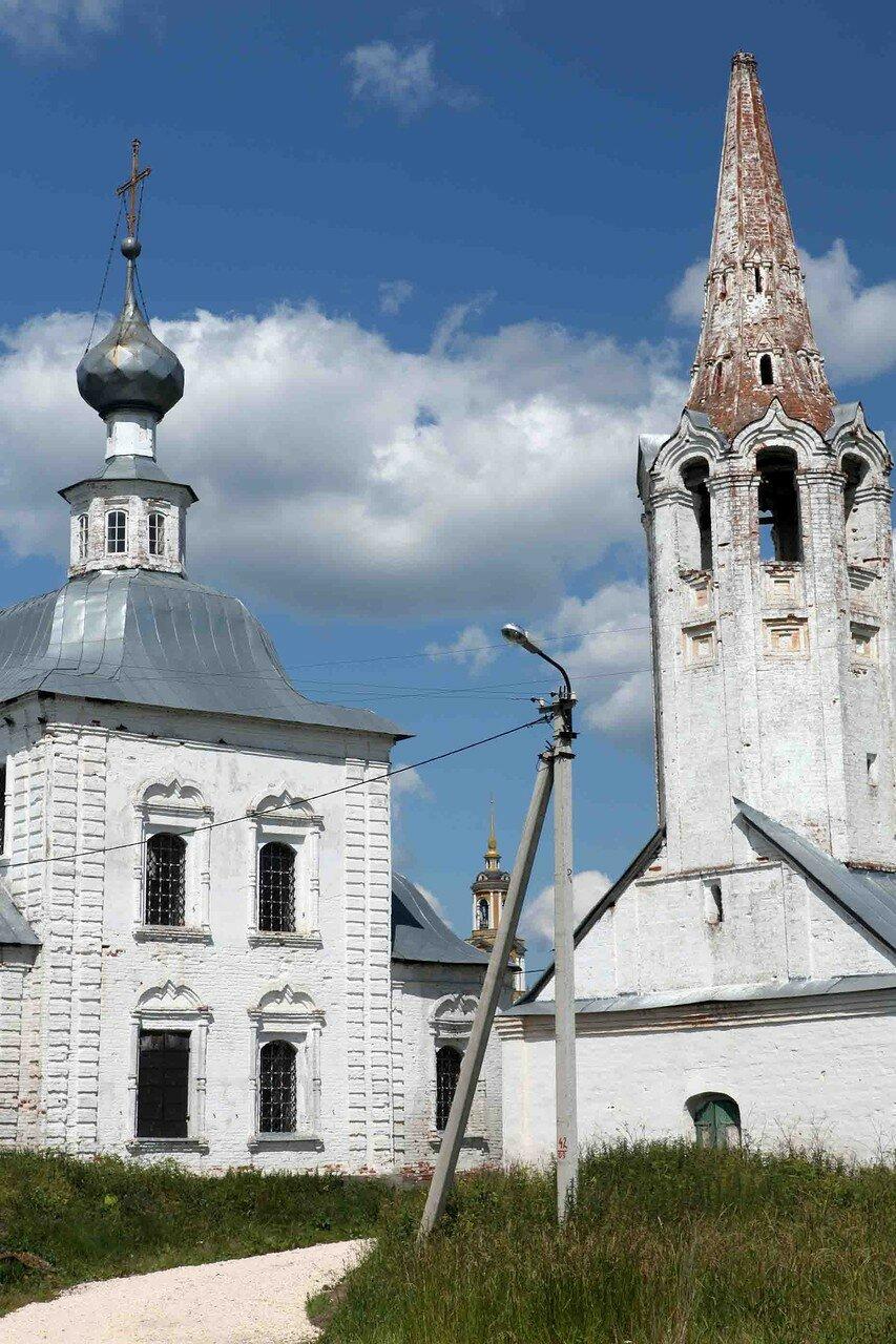 Суздаль - Космодемьянская церковь