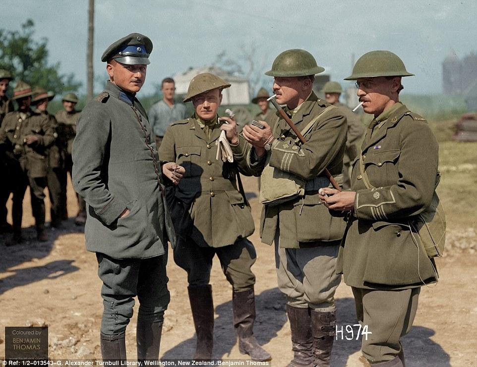 мировой первой фотографии солдаты