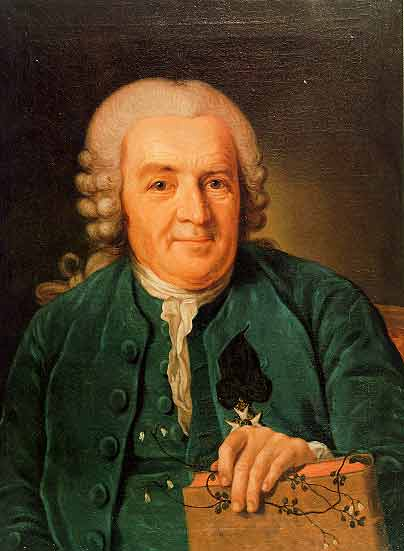 Карл Линней (1774) _1707-1778_ Per Krafft the Elder(1724-`1793)