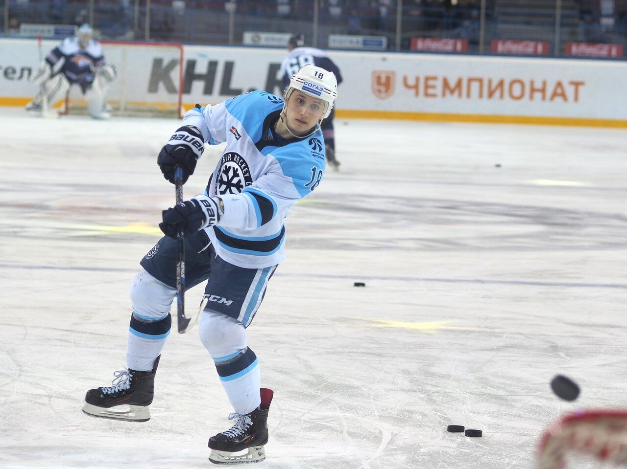 16Плей-офф 2016 Восток 1/2 Металлург - Сибирь 10.03.2016