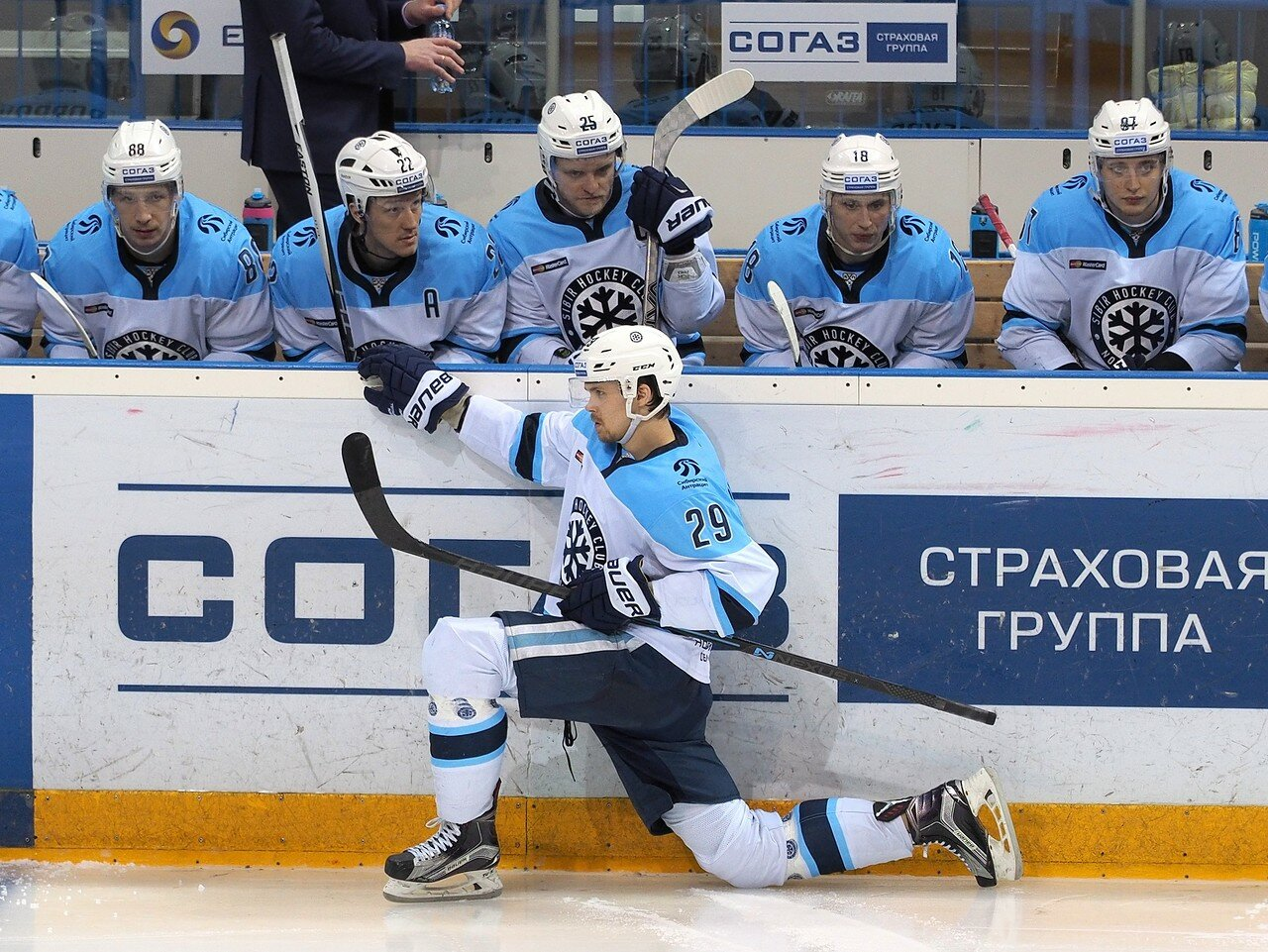 106Плей-офф 2016 Восток 1/2 Металлург - Сибирь 10.03.2016