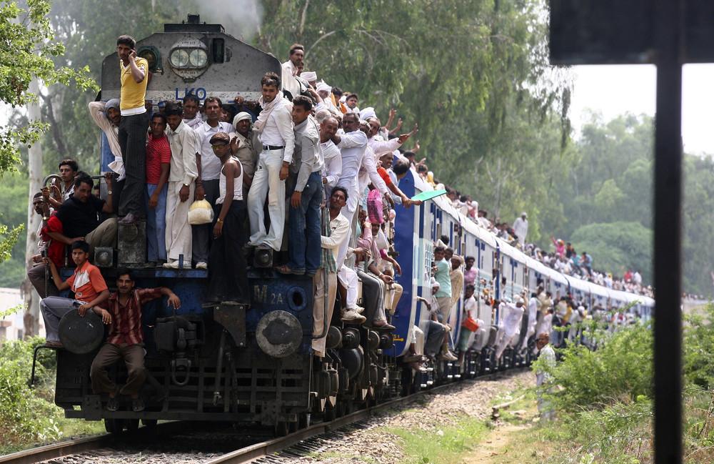 Кто успел, тот поехал: железная дорога Индии