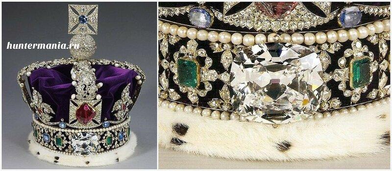 Самые большие бриллианты в мире - Куллинан II / Cullinan II