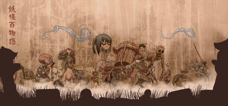 10 опасных монстров ёкай из японского фольклора