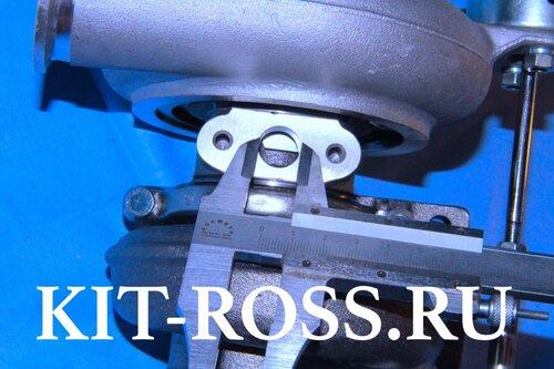 Турбина турбокомпрессор Cummins 3.8 Камминс 3.8 ФОТОН FOTON производитель VIDARIR   HE211W  крепление 4 отверстия 2840937 Турбина FOTON турбокомпрессор Фотон