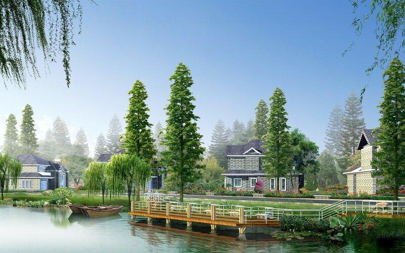 Красивые китайские пейзажи. Фотографии природы Китая, похожей на картины 0 1c4d5e bef25333 XL