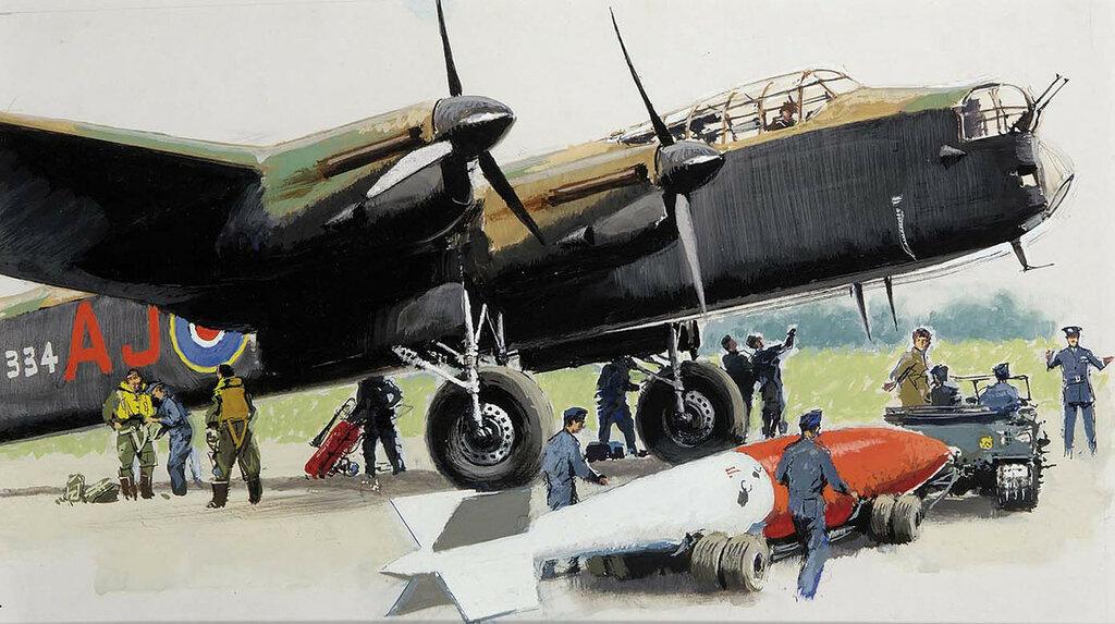 Albert Brenet - Avro Lancaster