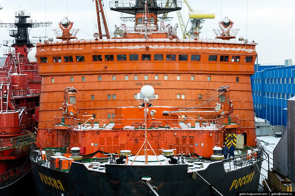 Какой он, единственный в своем роде атомный ледокольный флот России (41 фото)