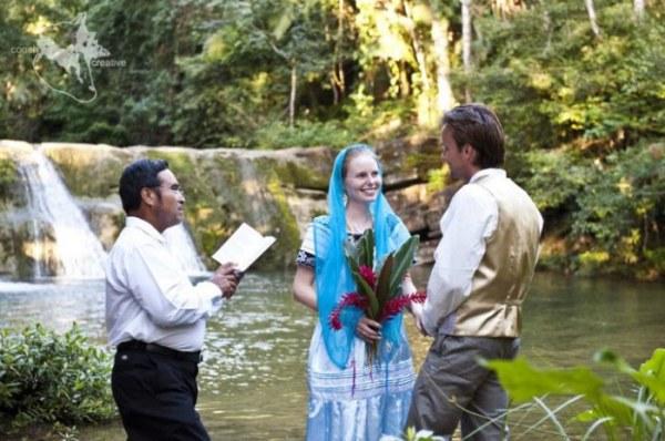 Свадьба в Никарагуа