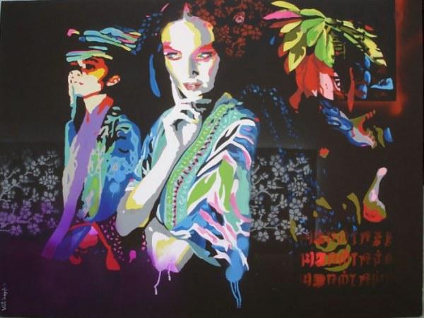 Индийский художник Винита Дасгупта (20 картин)