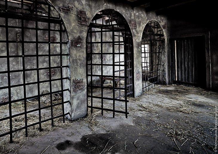 Деревянная кровать, сено, разбросанное на полу… Не хотелось бы здесь оказаться: