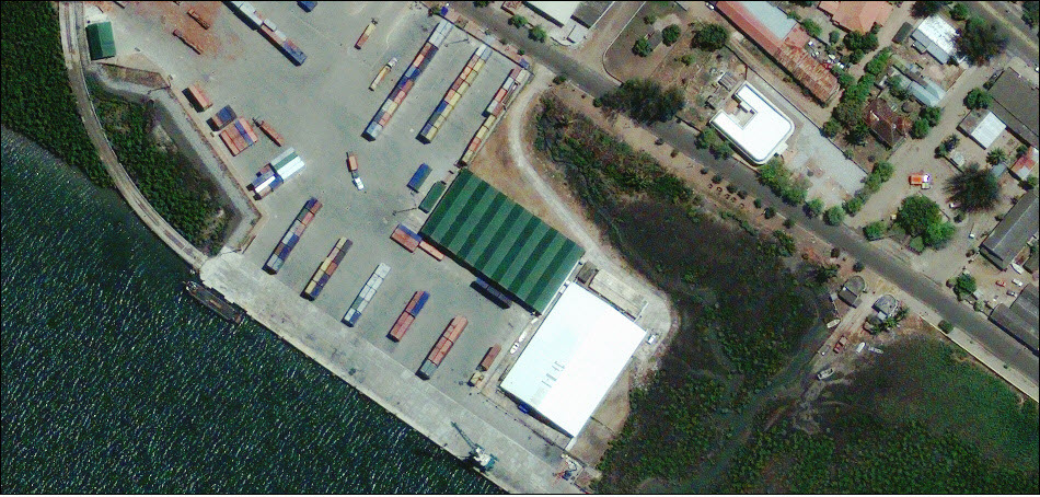 2. Порт Келимана в Мозамбике.
