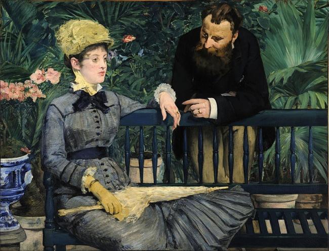 Внемецком музее собраны картины XIX века встиле классицизма, романтизма, импрессионизма ираннего