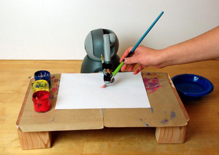 Картина в стиле импрессионизма, созданная роботом разработчиков Оливера Дейссена (Oliver Deussen) и