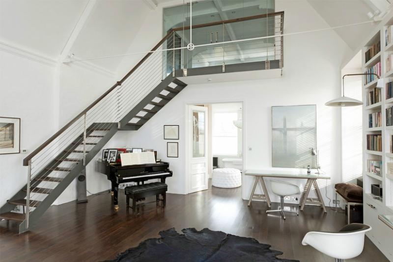 Пианино и рояль в дизайне интерьера фото 13