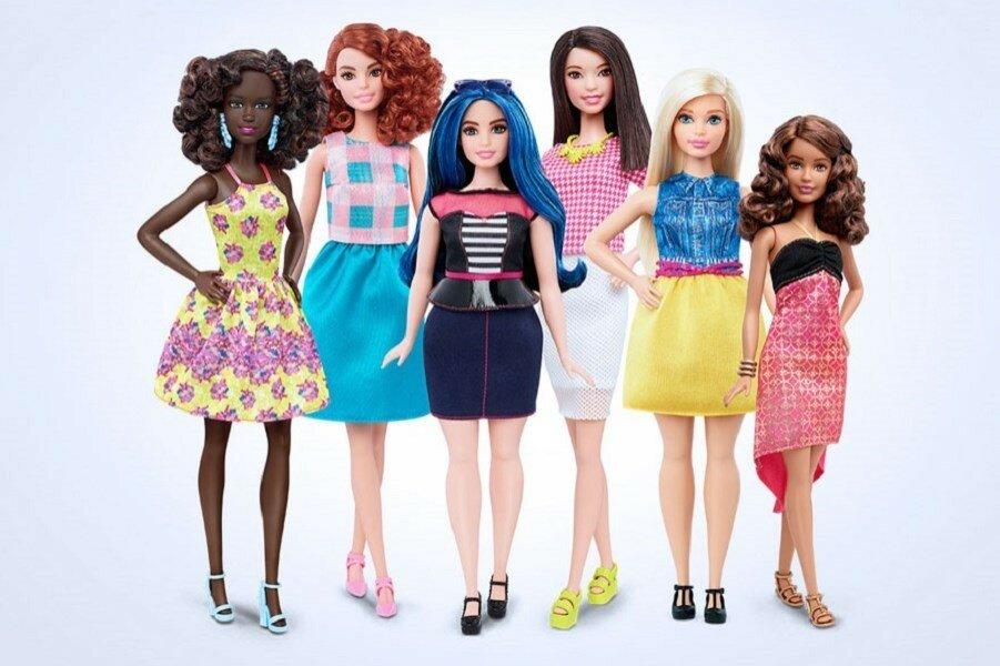 Вот они - новые Барби с реалистичными фигурами! Как они вам?