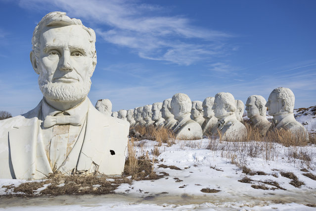 Abraham Lincoln. (Photo by David Ogden/Caters News)