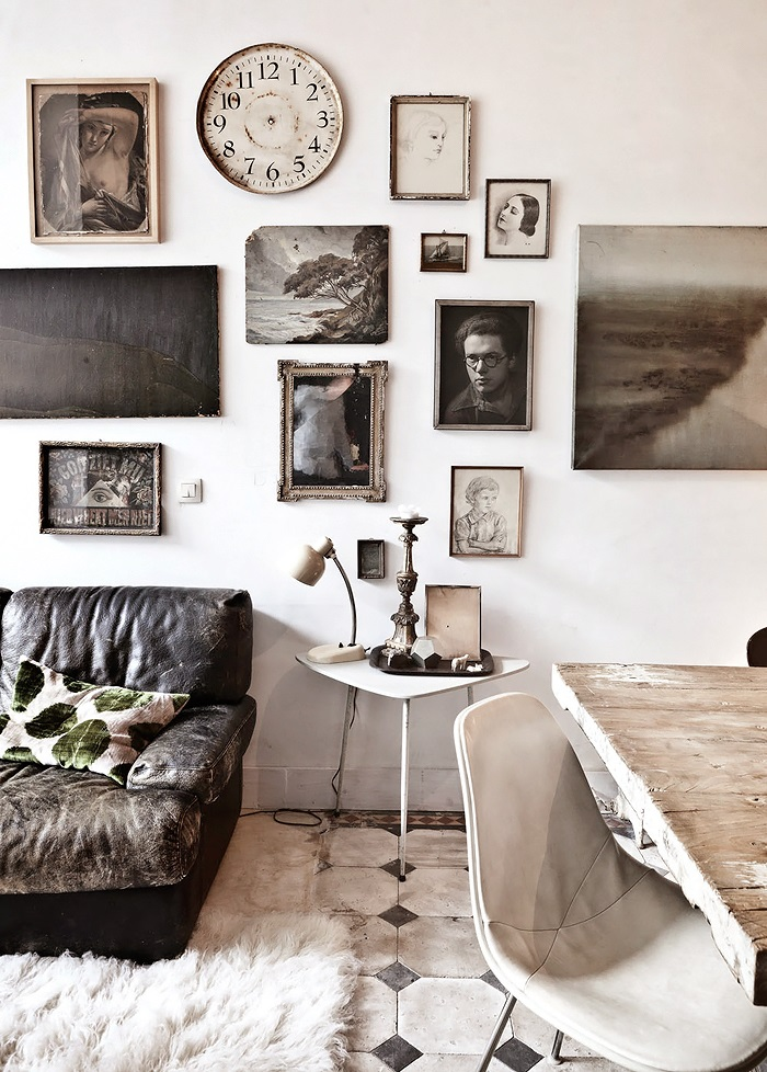 Eclectic Brussels Home by Muriel Bardinet - Archiscene - Your Daily Architecture & Design Update