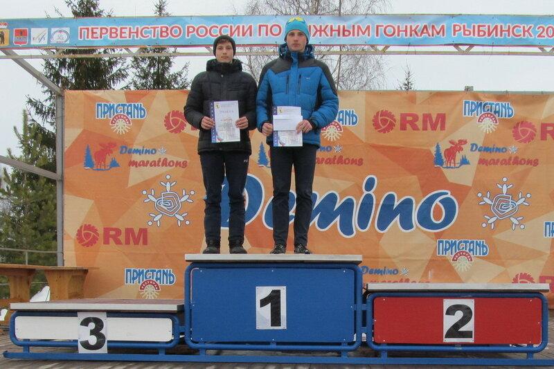 Большаков Илья 1 место на спартакиаде муниципальных округов по лыжным гонкам