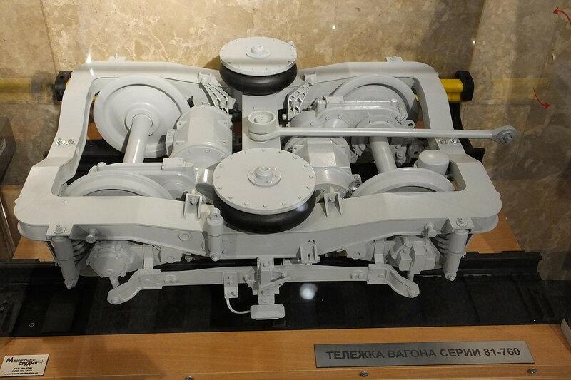 Тележка вагона 81-760 (Ока)