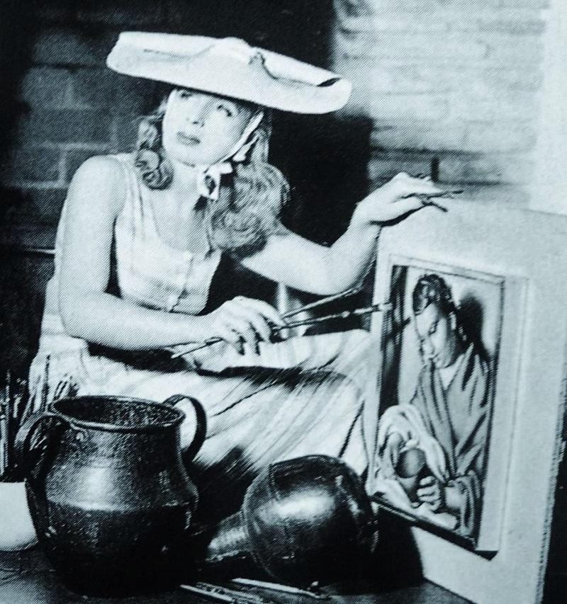 Тамара в Беверли-Хиллз, 1941