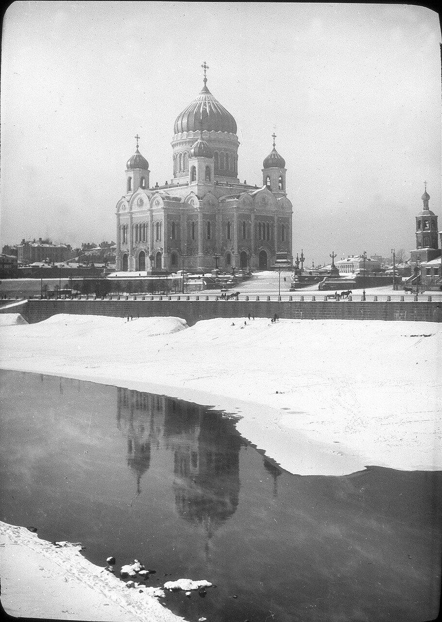 1929. Москва. Храм Христа Спасителя