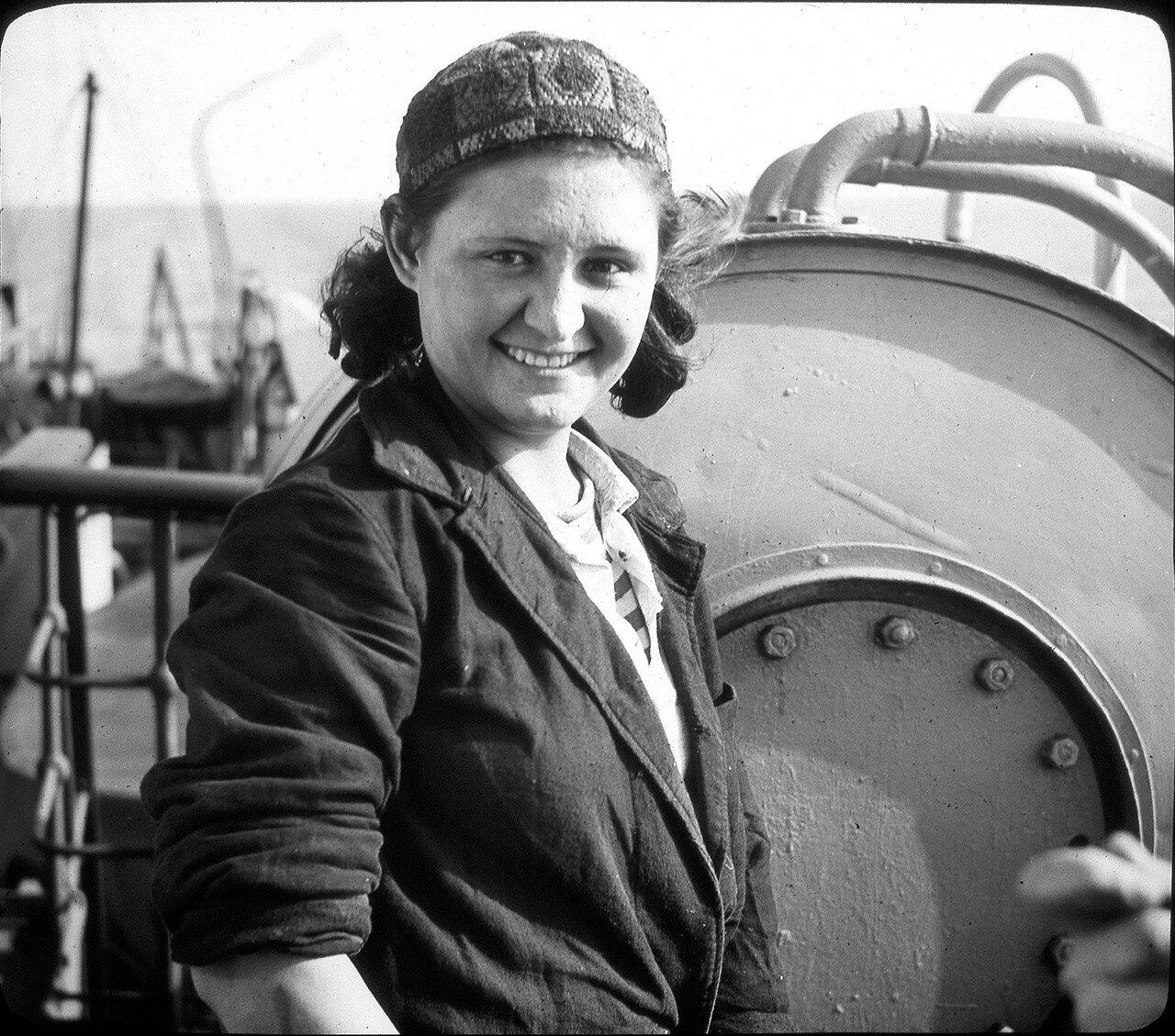 1937. Матрос на ПС «Вологда», Баренцево море