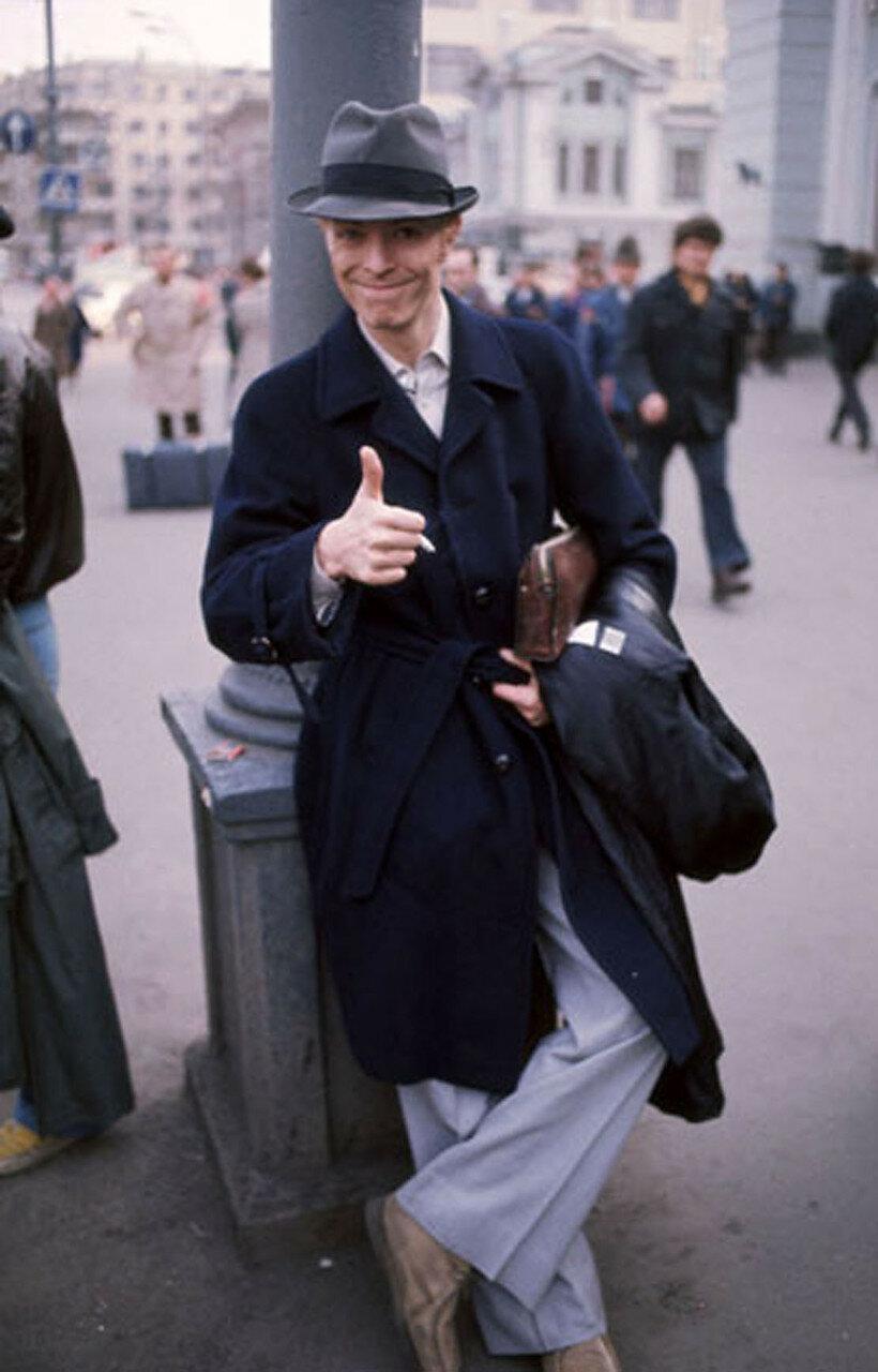 1976. Дэвид Боуи в Москве