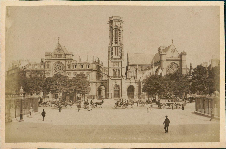 1889. Церковь Сен-Жермен-де-Пре