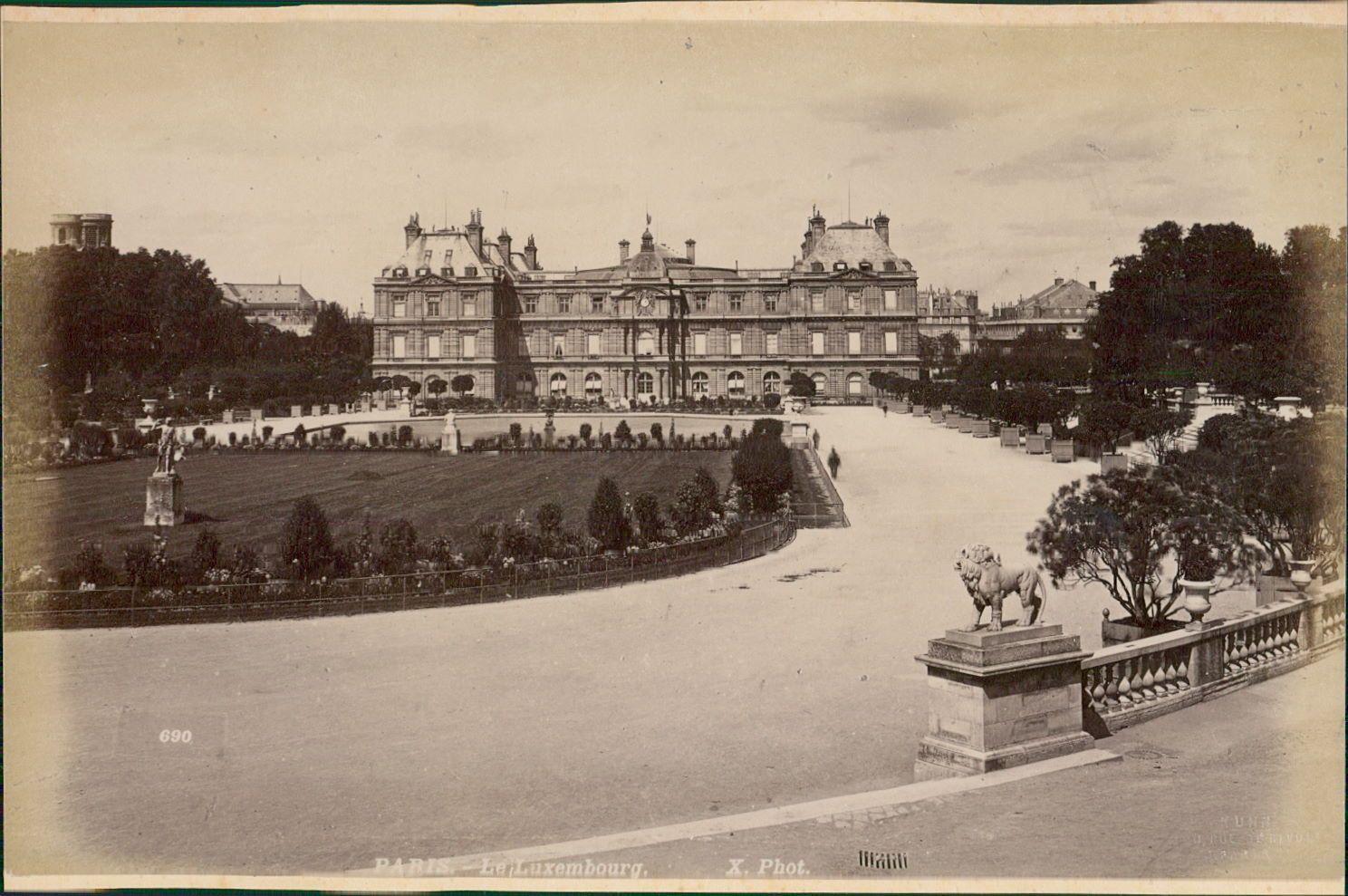 1889. Люксембургский дворец