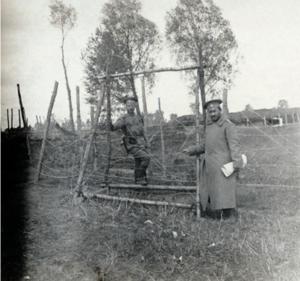20. 1914. Заграждения из колючей проволоки