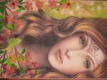 """Кулагина Анна (рук. Наволокина Елена Валерьевна) - """"Девушка-весна"""""""
