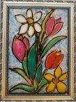 Крохинова Полина (рук. Паршутина Светлана Владимировна) - Весенние цветы