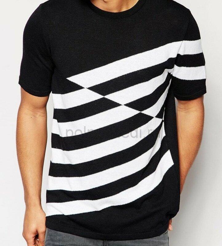 Идеи переделки Стильная мужская футболка ASOS на сайте ОДЕЖДА ПОЛНЫМ Marina Danilewskaya