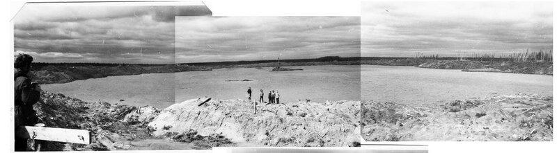 Панорама Ядерного озера в Чердынском районе Пермского края, 1973 год.jpg