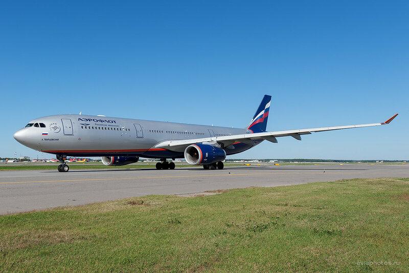 Airbus A330-343 (VQ-BEK) Аэрофлот D701510