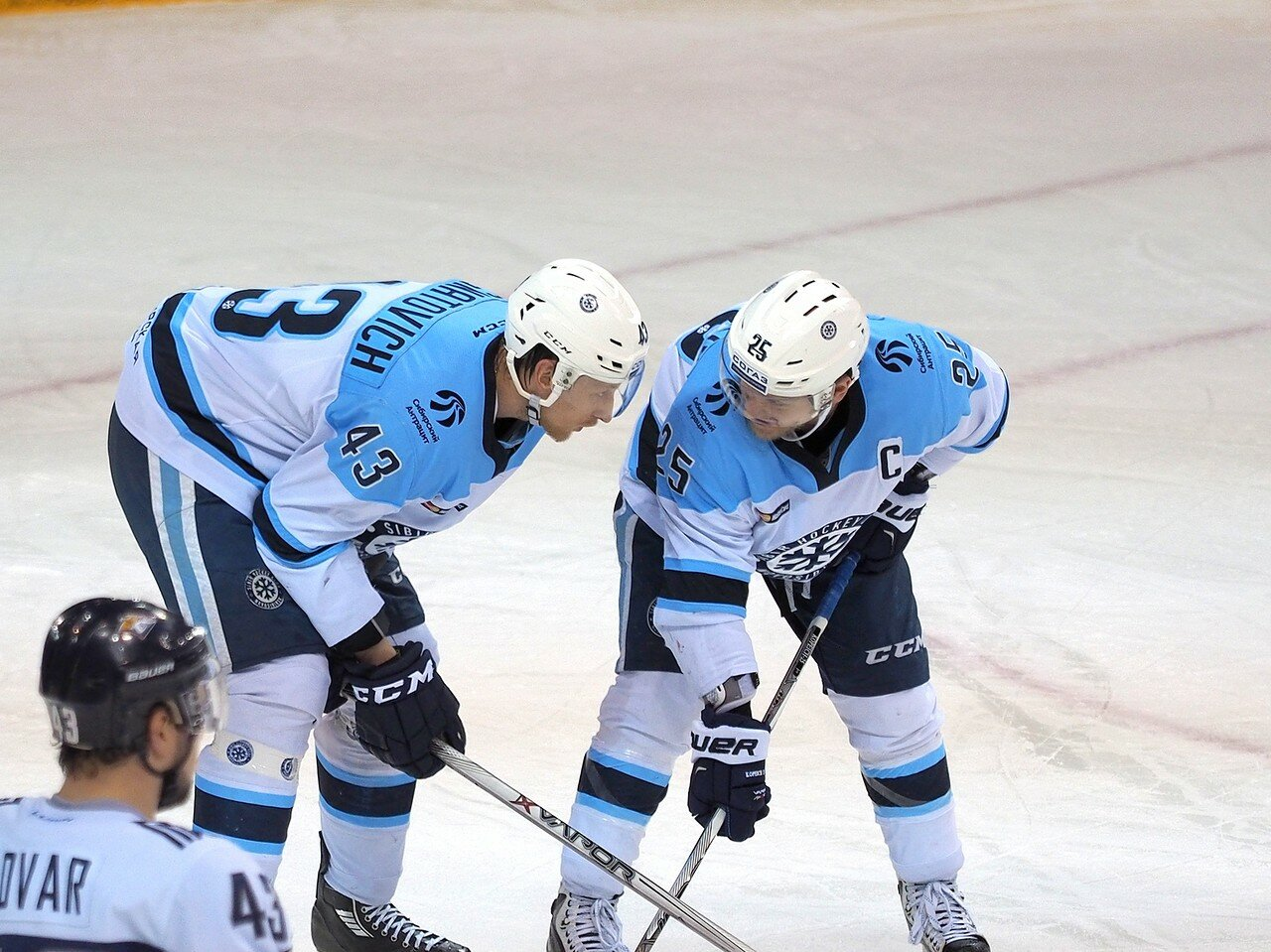 119Восток 1/2 плей-офф Металлург - Сибирь 08.03.2016