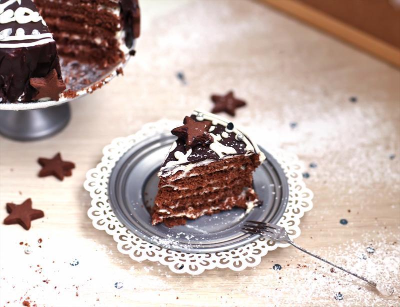 Торт каскад фото рецепт