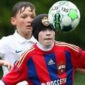 Зимнее противостояние лидеров детского футбола Москвы.