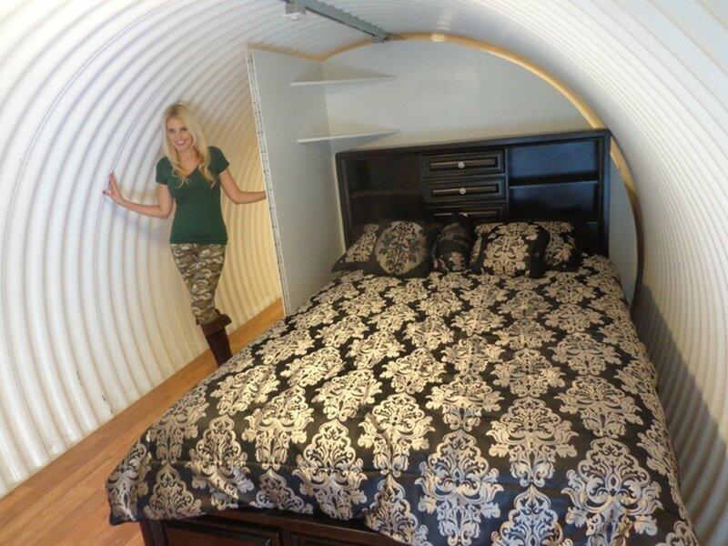 Самое удобное и роскошное убежище в Калифорнии, чтобы пережить Конец света