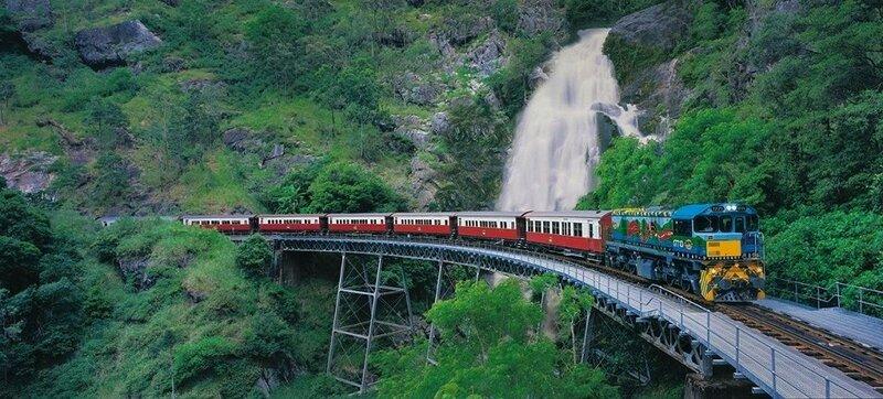 Живописная Курандская железная дорога