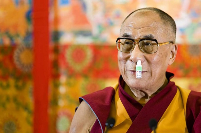 Далай-лама такой, какой есть.